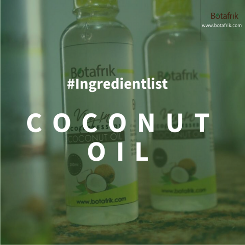 #ingredientlist Botafrik Coconut oil