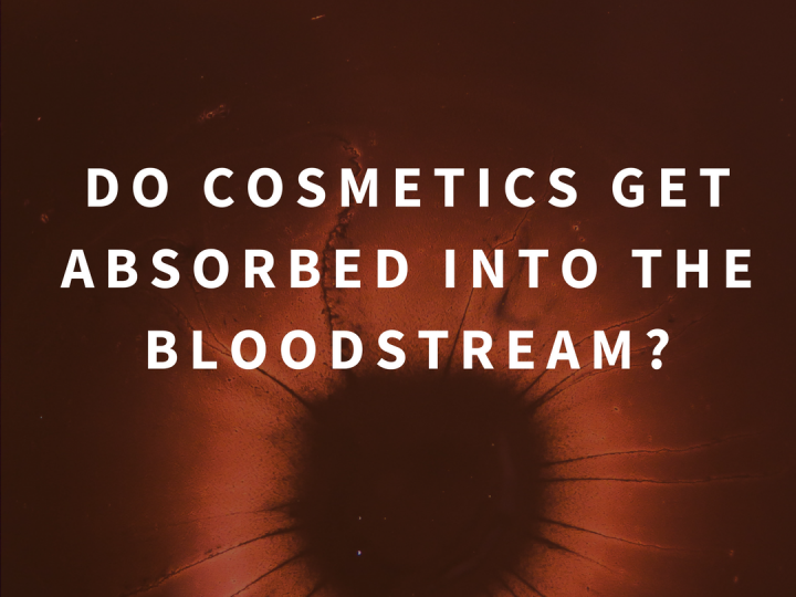Do Skincare cosmetics get absorbed into the bloodstream?
